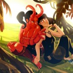 Monsters In Love : HellGirl & Liz