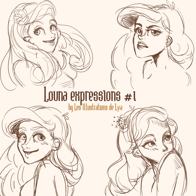 Louna expressions 1