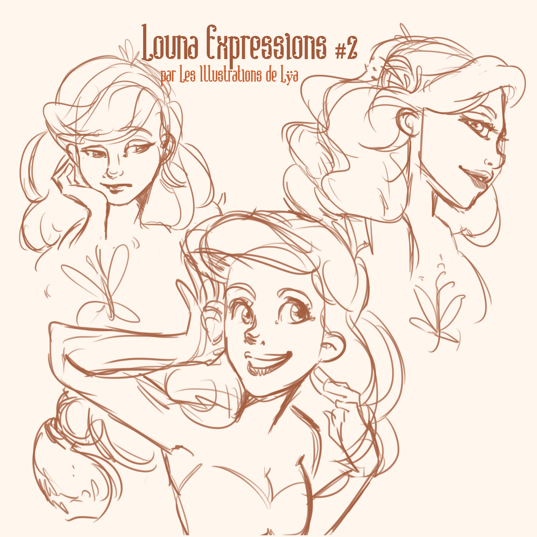Louna expressions 2